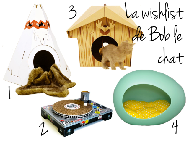 la wishlist de bob le chat