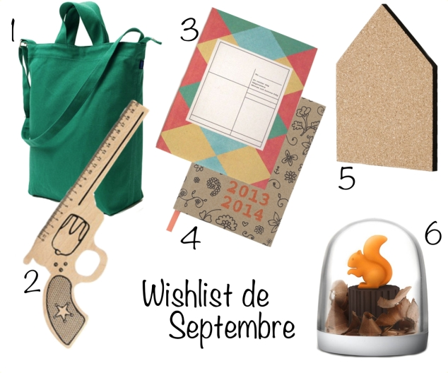 wishlist septembre