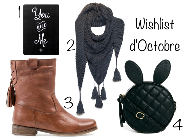 wishlist d'octobre