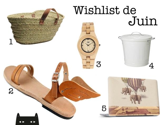 wishlist juin 2014