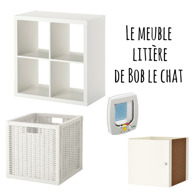 diy le meuble liti re de bob le chat charlie les yeux bleus. Black Bedroom Furniture Sets. Home Design Ideas