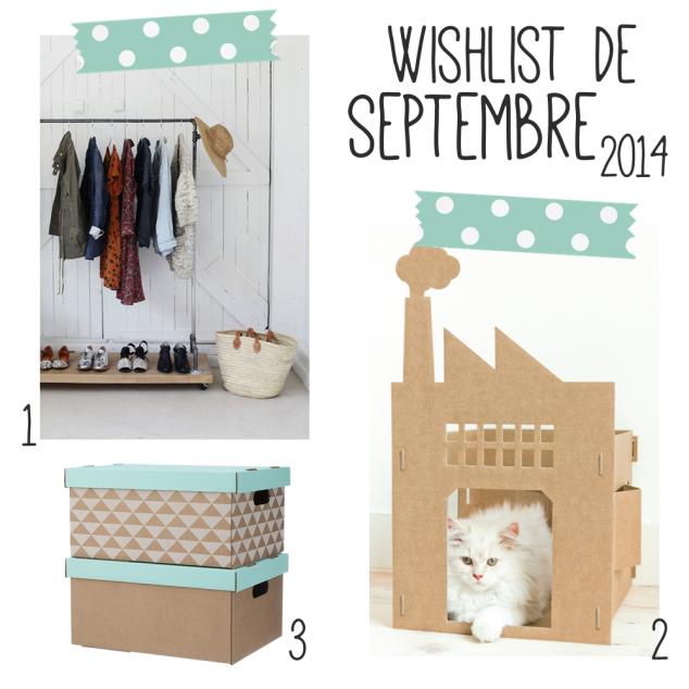 wishlist septembre 2014
