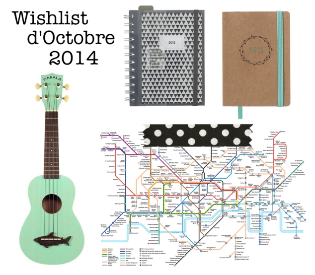 wishlist octobre 2014