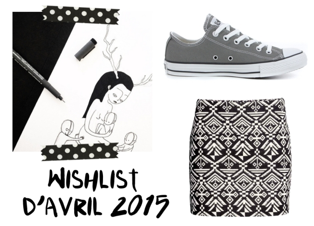 wishlist d'avril 2015